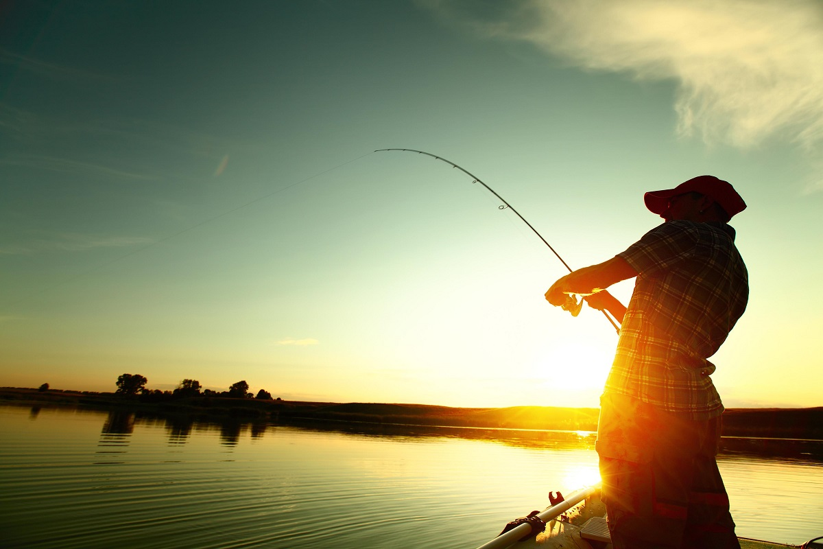 Man-Fishing-in-the-Sunset