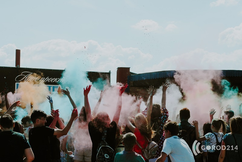 В Новополоцке пройдет фестиваль красок