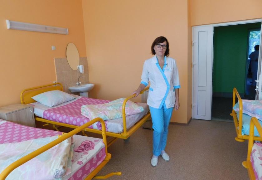 В Полоцкой городской больнице завершают масштабный ремонт. Что уже изменилось, а что еще планируют обновить