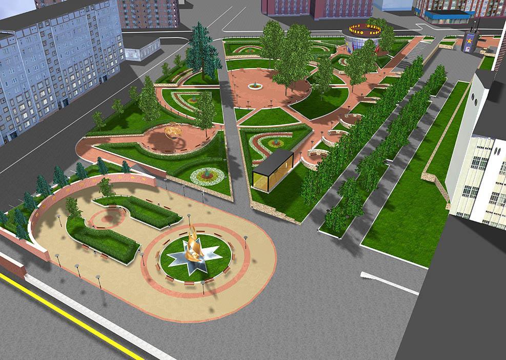 В парке культуры и отдыха построят мини-Новополоцк для детей