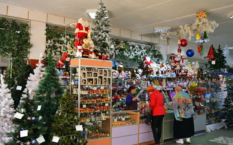 В Полоцке и Новополоцке начинают предновогоднюю торговлю. Будут ярмарки, распродажи и фотозоны