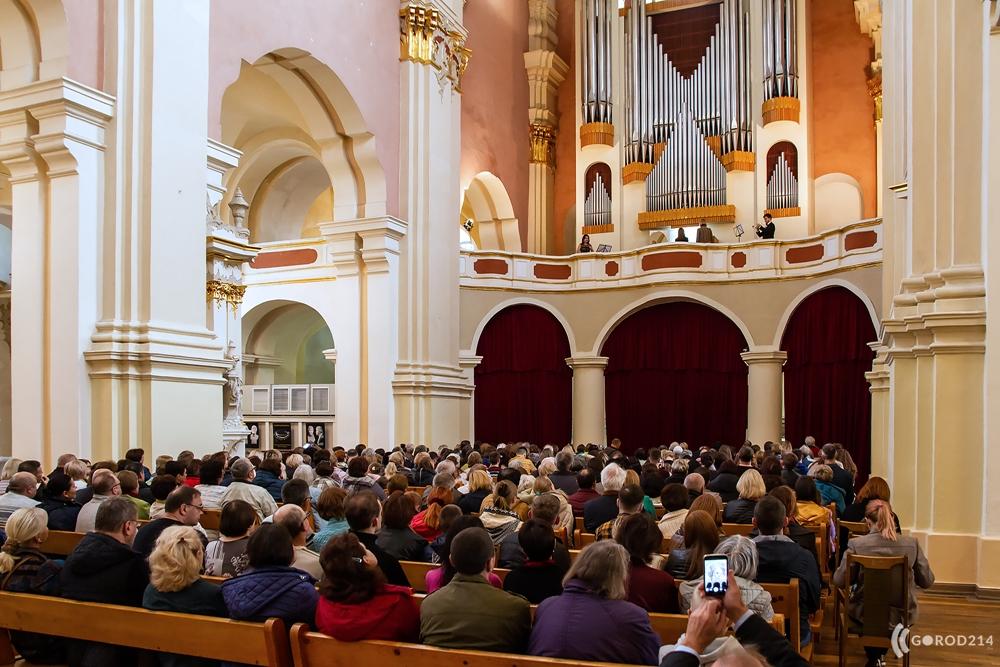 Международный фестиваль органной музыки «Званы Сафіі» пройдет с 18 октября по 8 ноября в Полоцке.