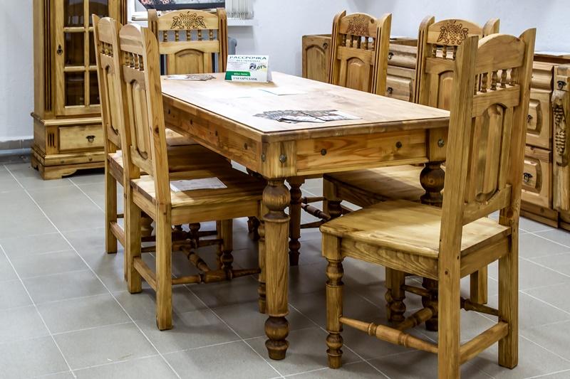 (воск)_обеденная группа (стол+стулья)