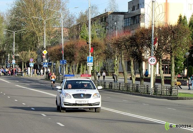 3 и 4 мая в Новополоцке ограничат движение автомобилей по Молодежной