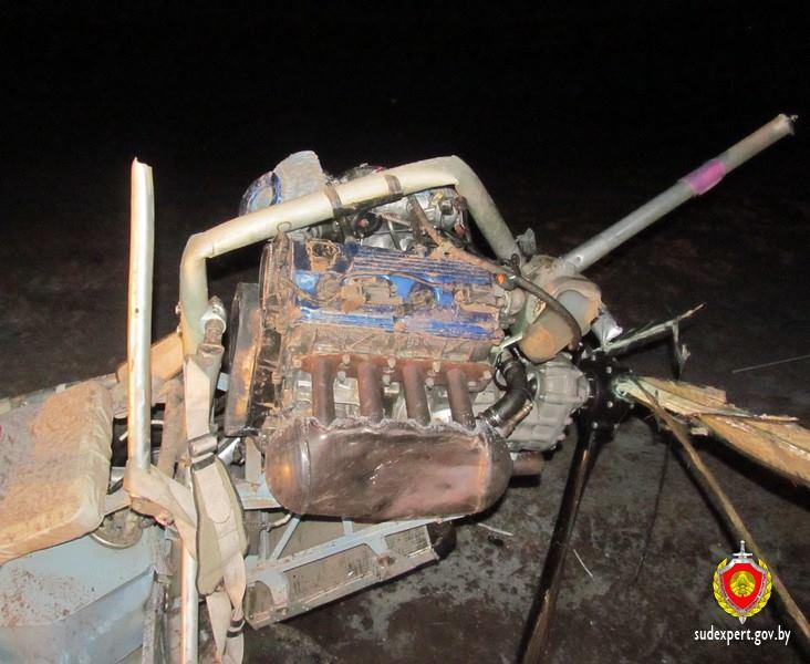 Фото с места крушения дельтаплана