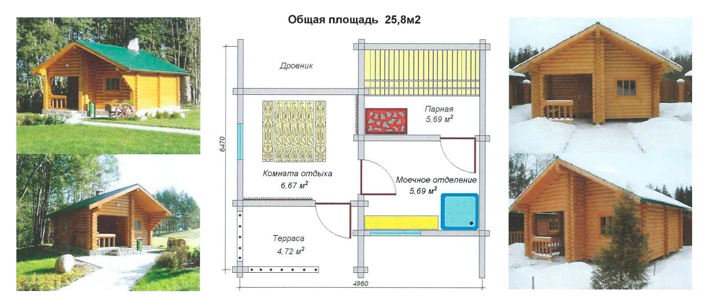 Строительство бани Новополоцк, Полоцк